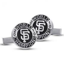Giants World Series Medallion Cufflinks
