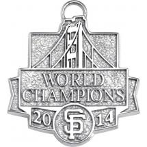 World Series Champions Bridge Charm