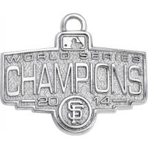MLB World Series Logo Charm